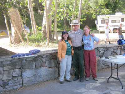 Barb, Ranger Tony and Liz