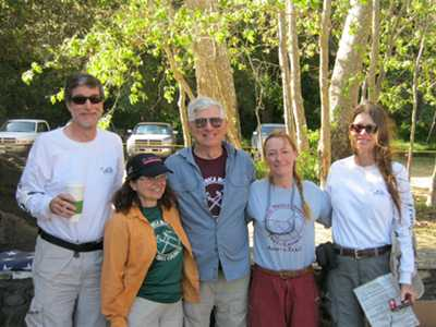 Steve, Barb, Jerry, Liz and Claudia